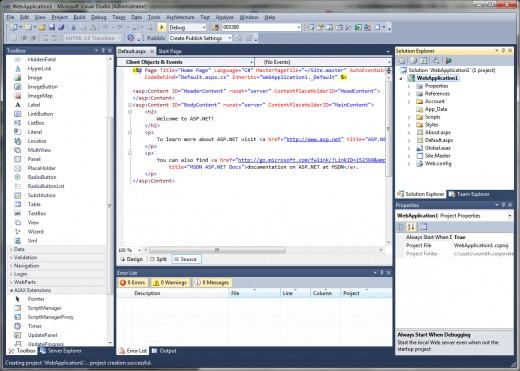 asp.net webpage
