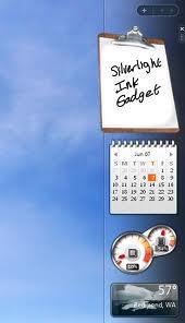 silverlight desktop sidebar
