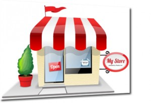 work at home with online store